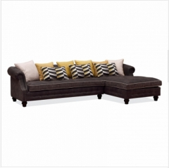 斐亨外贸家具折扣 布艺沙发 进口实木 随心搭配 ks2136