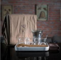 斐亨家居 便携式茶具 蝉十七 随行 4个杯子的套装