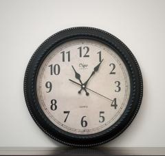 斐亨创意家 家居软装饰品 实用铁艺壁挂钟 精美钟表 挂钟