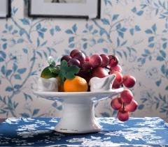 斐亨 小鸟果盆 陶瓷果盆 货柜陶瓷件 FH020150618 做旧效果