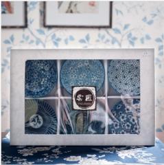 斐亨 和风瓷碗 彩色陶瓷碗 套装 LW-025