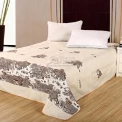 瀚庭 时尚与传统 老粗布床单 清明上河图