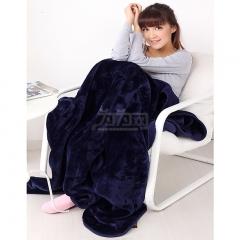 瀚庭 秋冬 超柔 加厚 丝柔毯 车用毯 空调毯 旅行毯